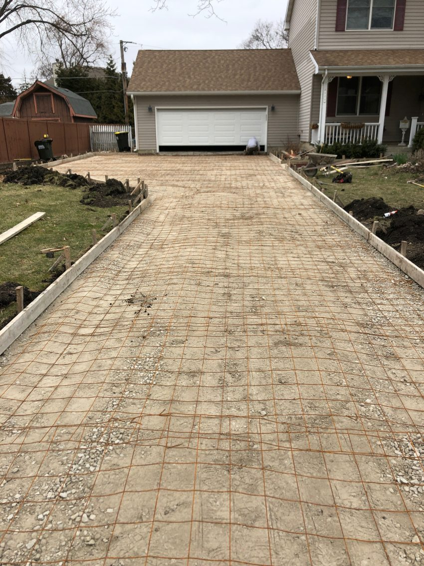 Replacing a driveway
