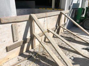 frame dock pit